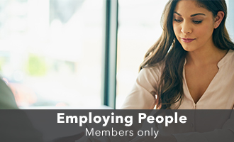 Employing people
