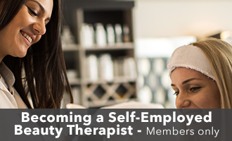 Becoming a self-employed beauty therapist