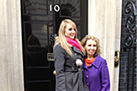NHF 'trailblazer' visits 10 Downing Street