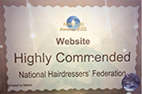 NHF's new-look website is highly commended in top industry award