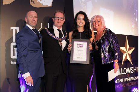 Evie Scrowston wins prestigious bespoke education and mentoring programme, 'Step Up & Shine'