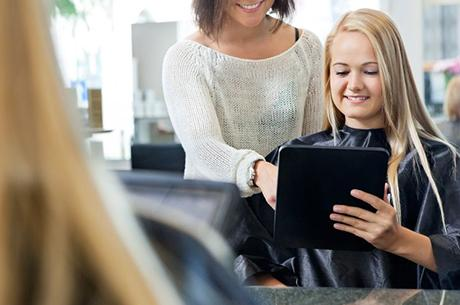 Enhance clients' salon experience with television and a TV Licence, says the NHF